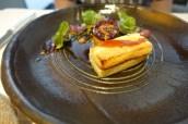 Warm Aromatic Foie Gras, Burnt Grelot Onions, Toasted Cobnuts, Hay Tea Dressing & Pennywort