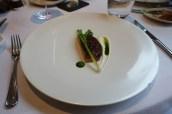 Glazed Aubergine, Black Tea and Olives