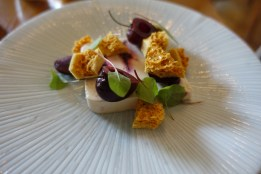 Morello Cherry and Honeycomb Parfait with Macerated Cherries