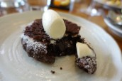 Chocolate Moelleux, Aniseed Ice Cream