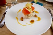Gara Rock Crab with Apple, Citrus and Cashews