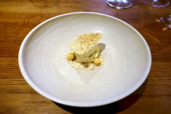 Sweetcorn, popcorn, passion fruit, soy