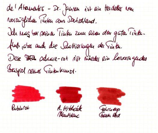 De Atramentis back-red Einleitung