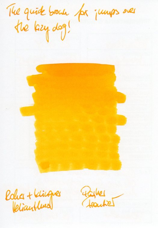 RuK Helianthus Testkarte Rueckseite