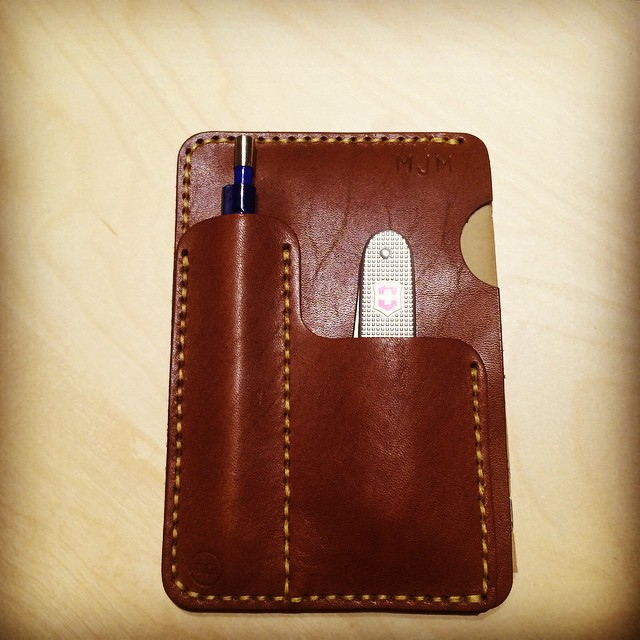 Finaly arrived in Germany #fieldnotes #fieldnuts @kochleatherco #handmade #everydaycarry #journal #leather