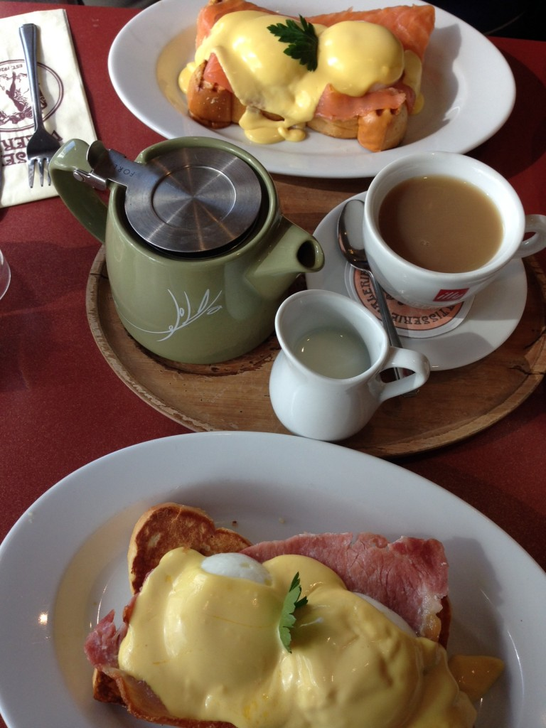 bday breakfast at Patisserie Valerie
