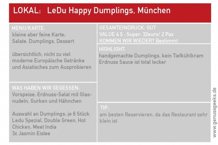 LeDu Dumplings