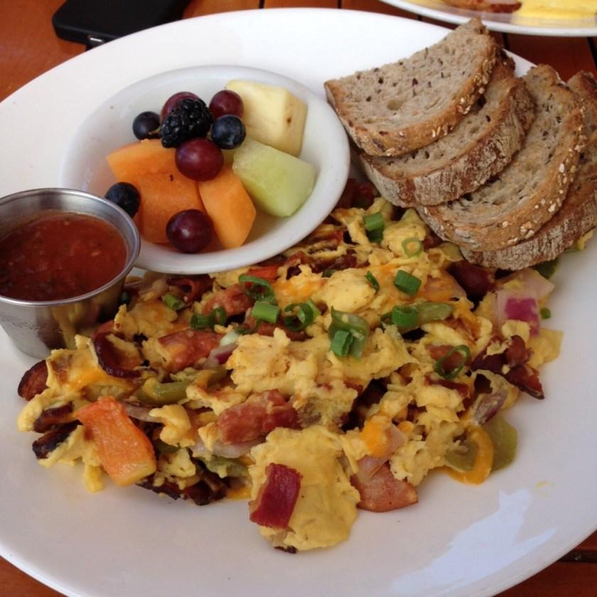 The Beachcomber breakfast