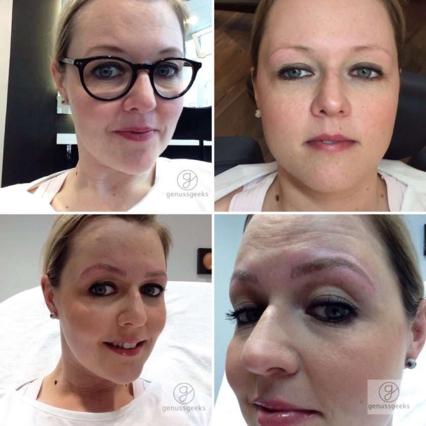 Microblading the browery München genussgeeks
