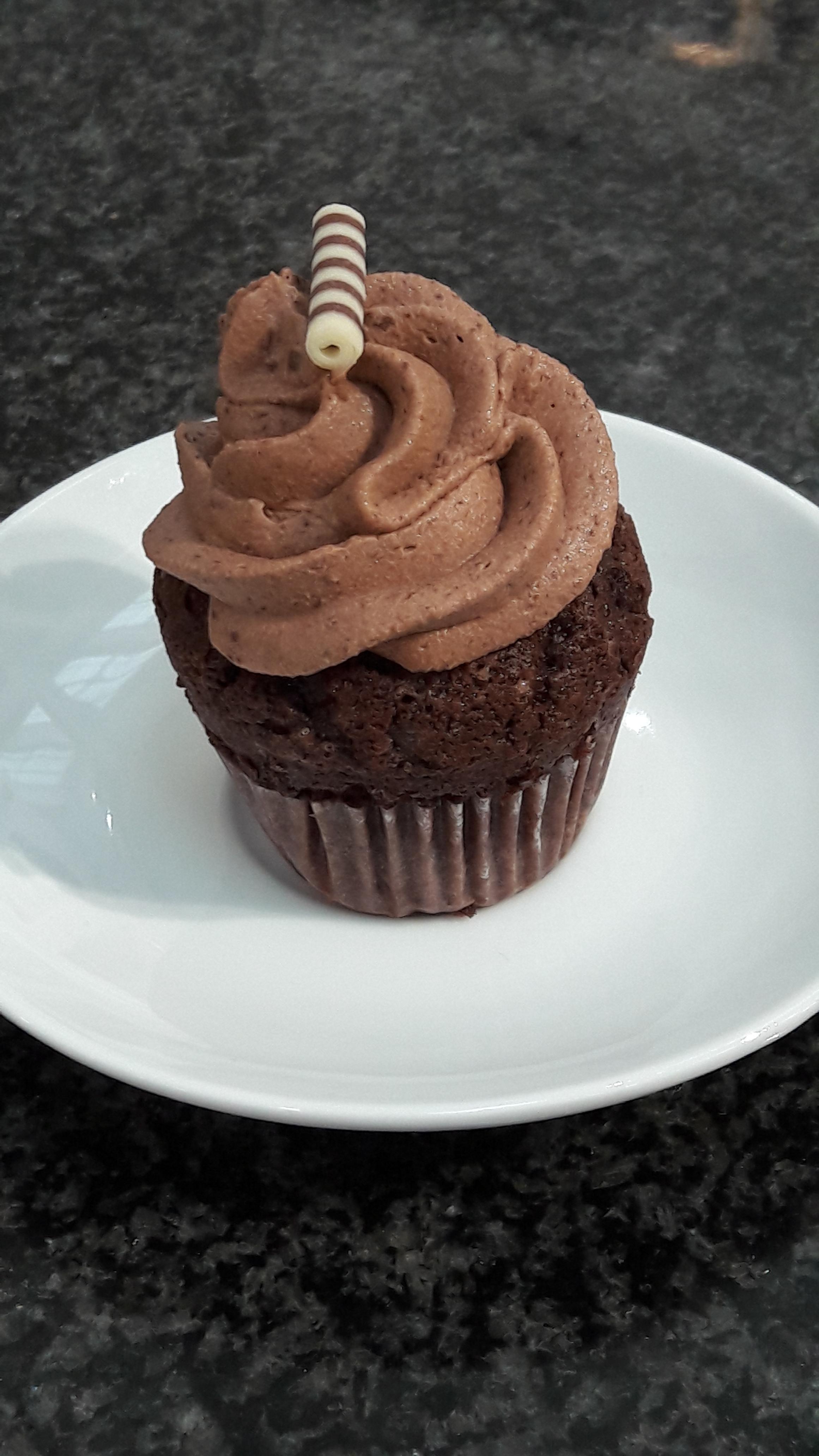 Schokoladen- Cup-Cake
