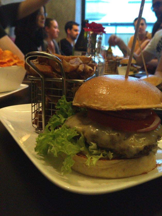 Burger City Guide Dinner im Burger Republic Ludwigsburg