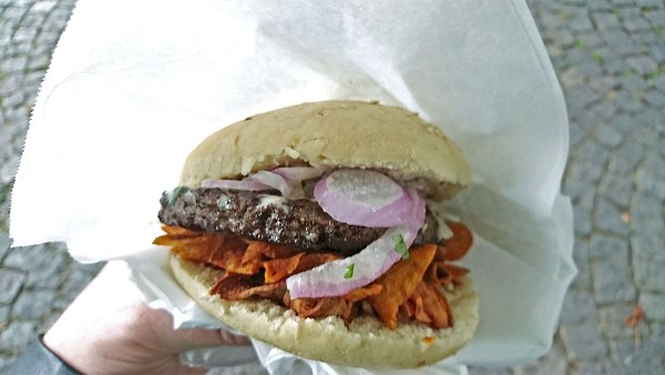 Peru Beef Burger Gaumenfreude Streetfood