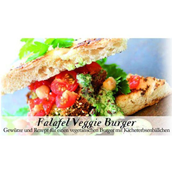 Genusswerk Feuer & Glas Falafel Veggi Burger