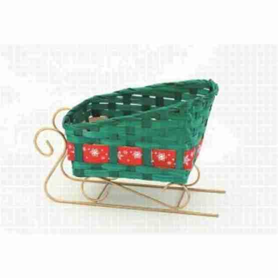 Genusswerk Verpackung Schlitten grün