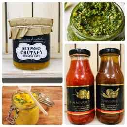 Pesto, Soßen & Chutney