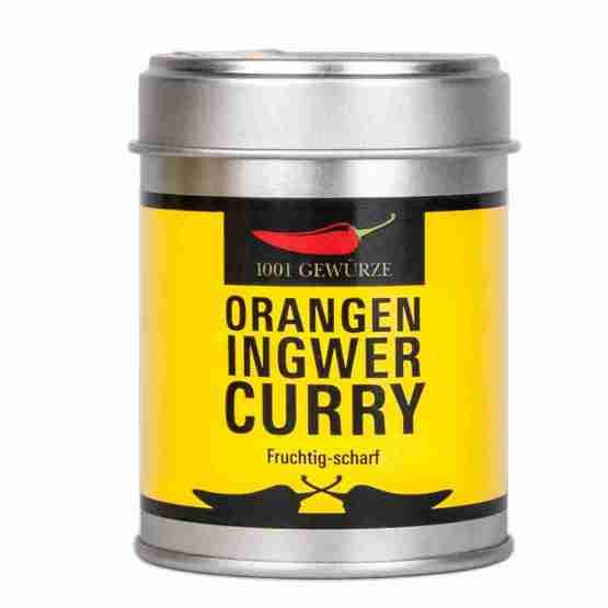 Genusswerk 1001 Gewürze Orangen Ingwer Curry