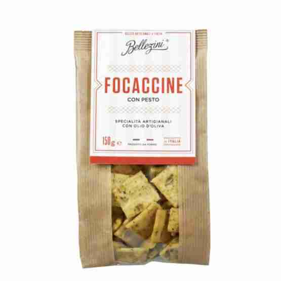 Genusswerk Bellezini Focaccine Parmesan & Basil