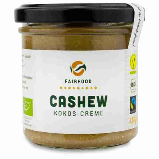 Genusswerk Fairfood Cashew Kokos Creme