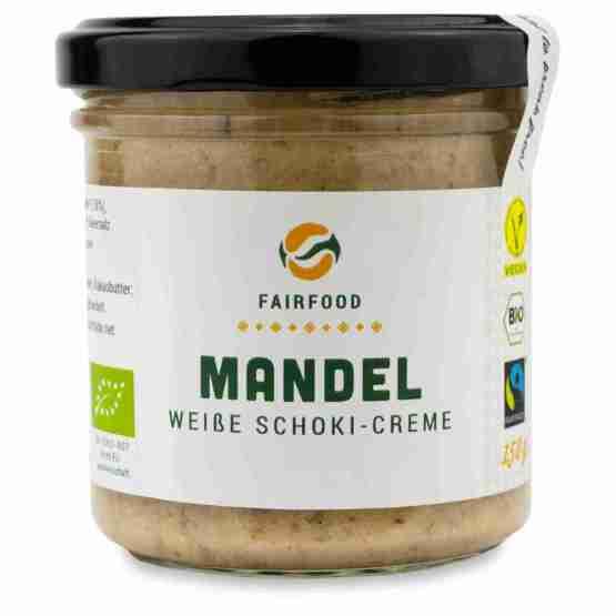Genusswerk Fairfood Mandel Weiße Schoko Creme