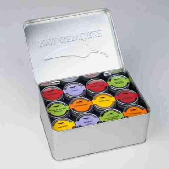 Genusswerk Geschenkbox 1001 Gewürze offen