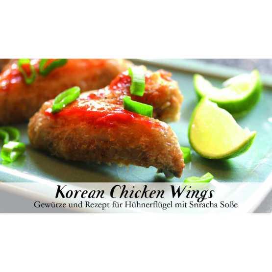 Genusswerk korean chicken wings