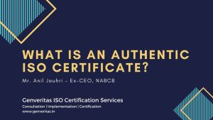 What is an Authentic ISO Certificate?