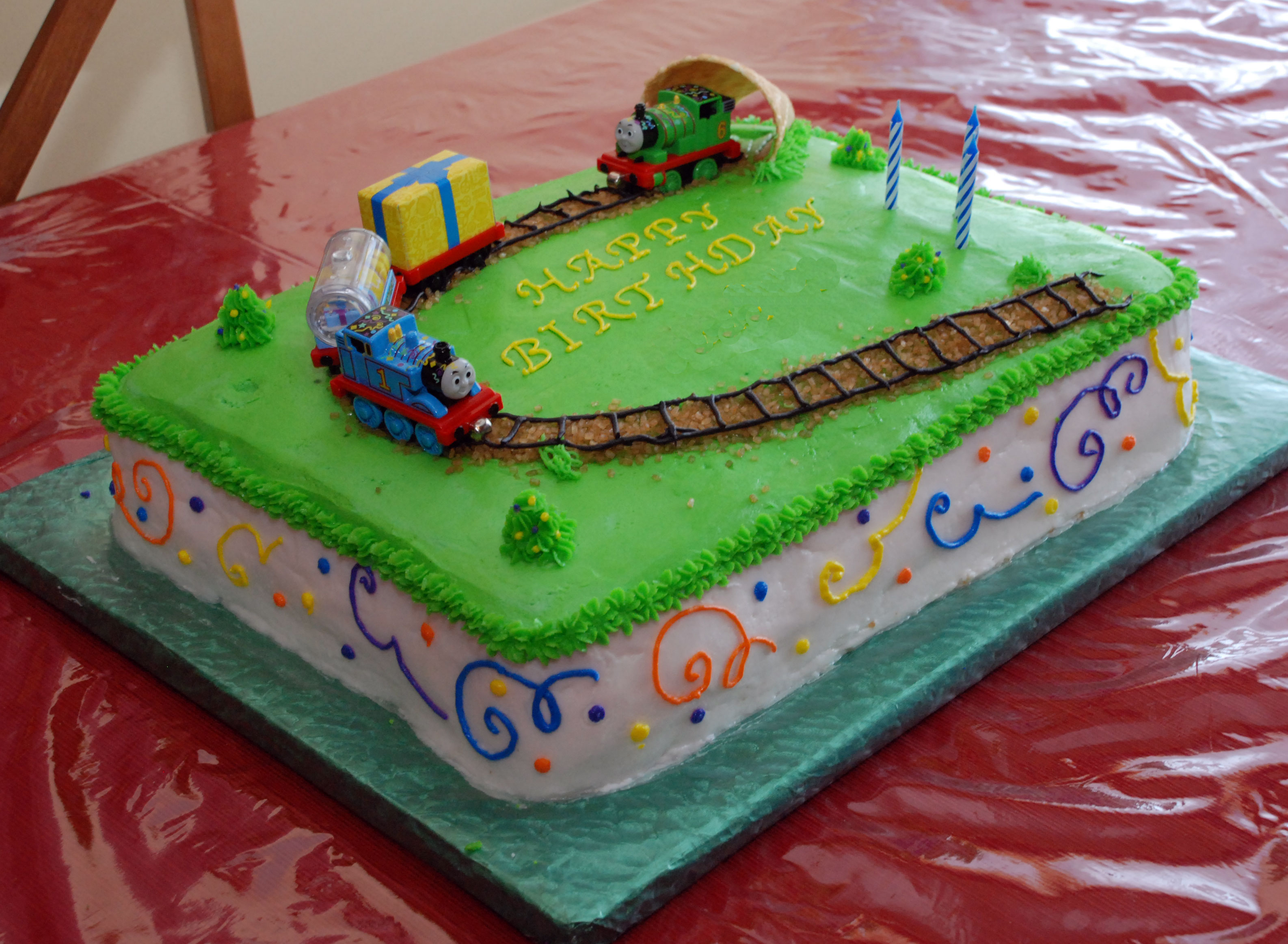 Kid Birthday Party Ideas Star Wars And Thomas The Train