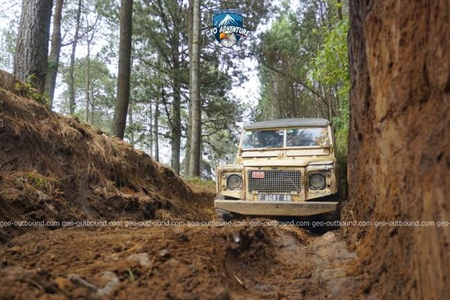WISATA OFFROAD TANGKUBAN PARAHU LEMBANG BANDUNG GEO ADVENTURE INDONESIA