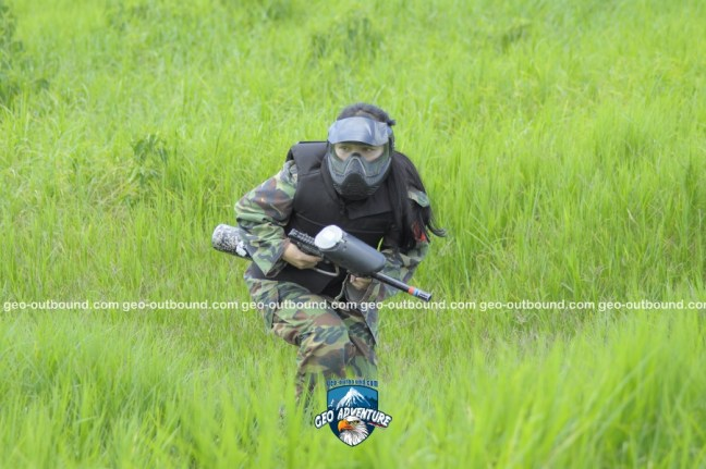 SIMULASI TEMPUR PAINTBALL ADVENTURE
