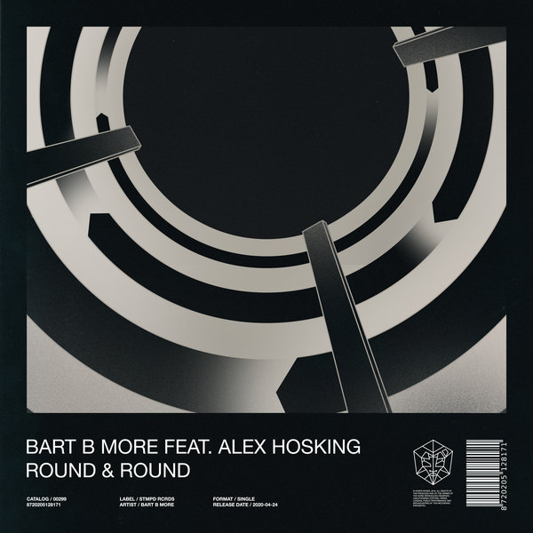 Bart B More feat. Alex Hosking - Round & Round on Traxsource