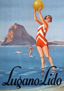 Lugano-Lido-Plakat