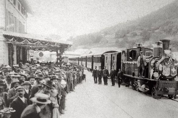 Bahnhof Ilanz