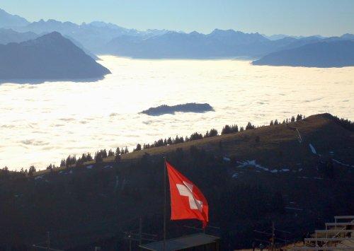 Insel im Nebelmeer