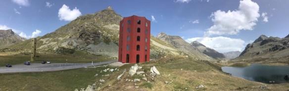Origen-Turm auf dem Julierpass