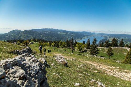 Der Mont Tendre und der Lac de Joux