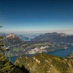 Fantastische Aussicht auf den Vierwaldstättersee