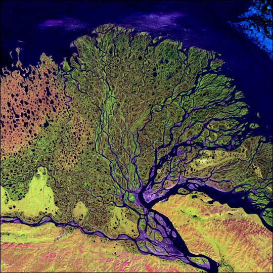 Lena River Delta, Russia