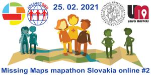 Registrácia na Missing Maps mapathon Slovakia online #2