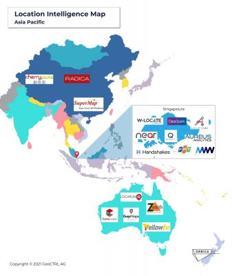 Location Intelligence Map- Asia Pacific new