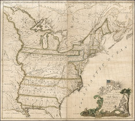 First U.S. map purchased for record price