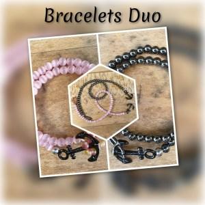 bien-être-bracelet-couple-amour-ancre-pierre-naturelle-quartz-rose-mineraux-lithotherapie-soins