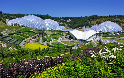 The Eden Project Worlds Largest Geodesic Greenhouse