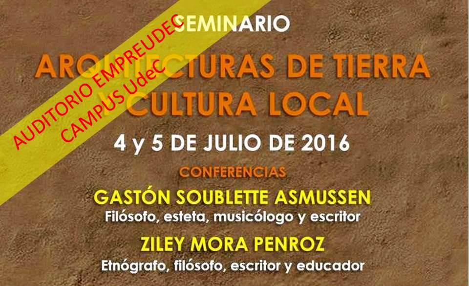 Seminario: Arquitecturas de Tierra y Cultura Local