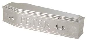 Campervan silver coffin