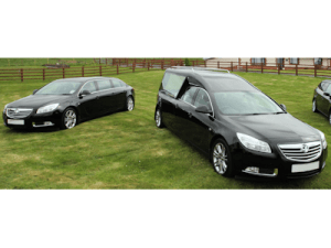 Vauxhall Hearse and one Limousine