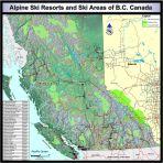 Where are all the Alpine Ski Resorts in BC?