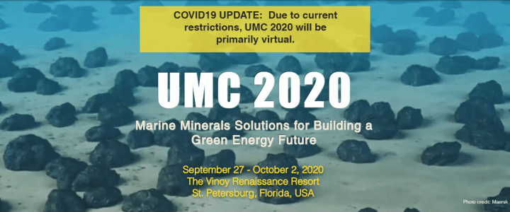 Did you know that the Underwater Minerals Conference is the world's largest gathering of ocean mineral stakeholders, presented by the International Marine Minerals Society (IMMS)