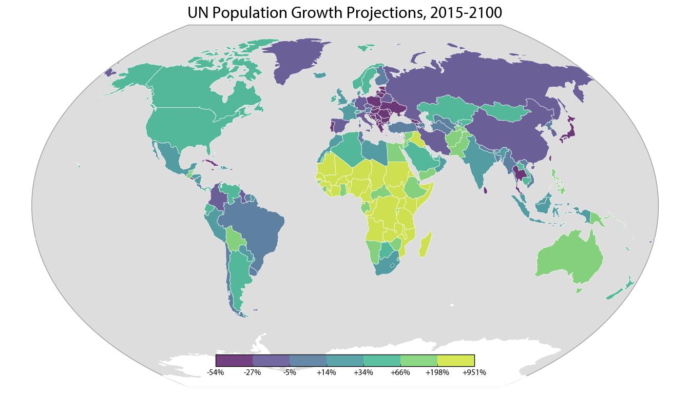 World Population Projections Geoff Boeing