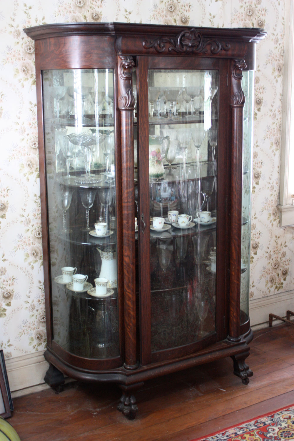 Victorian China Cabinet Stolen From Our House Geoff Coats