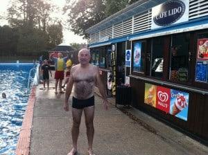 Geoff Jones at Jesus Green Pool